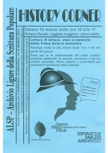 Volantino History corner
